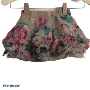JOULES Floral Twirl Skirt Girls sz. 1Y